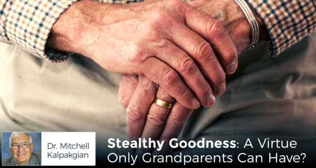 Stealthy Goodness: A Virtue Only Grandparents Can Have? - by Dr Mitchell Kalpakgian