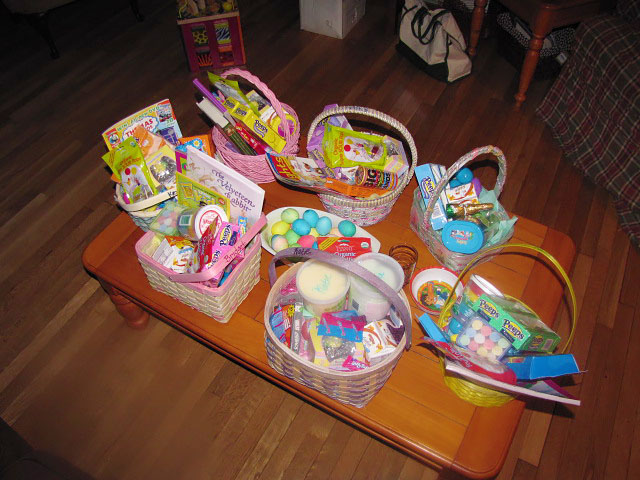 Mary Ellen Barrett - March- Feasts, Seasons and Easter Joy -Baskets