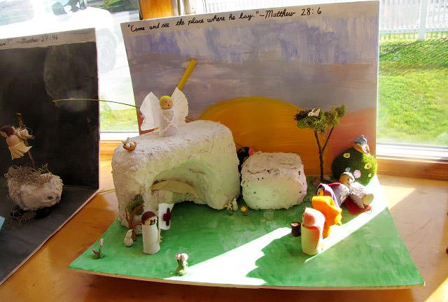 Mary Ellen Barrett - March- Feasts, Seasons and Easter Joy -cake