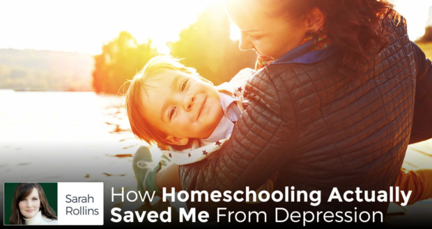 How Homeschooling Actually Saved Me From Depression - by Sarah Rollins