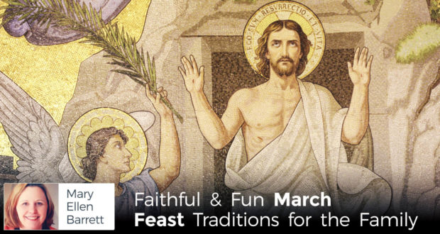 Mary Ellen Barrett - March: Feast Seasons  and Easter Joy - by Mary Ellen Barrett