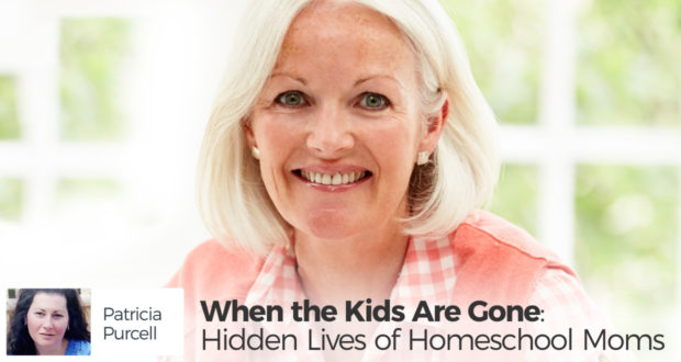 When the Kids Are Gone: Hidden Lives of Homeschool Moms - by Patricia Purcell
