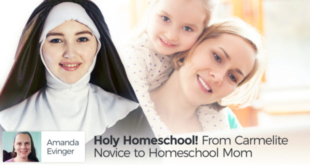 Holy Homeschool! From Carmelite Novice to Homeschool Mom - by Amanda Evinger