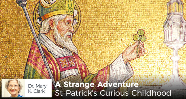 A Strange Adventure: St Patrick's Curious Childhood - by Dr Mary Kay Clark