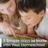 5 Simple Ways to Invite God into Your Homeschool - Jennifer Elia