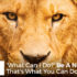 'What Can I Do?' Be A Narnian. That's What You Can Do. - John Clark