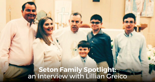 Seton Family Spotlight: an Interview with Lillian Greico