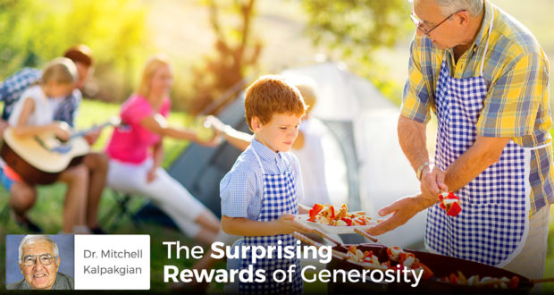 The Surprising Rewards of Generosity - Dr. Mitchell Kalpakgian