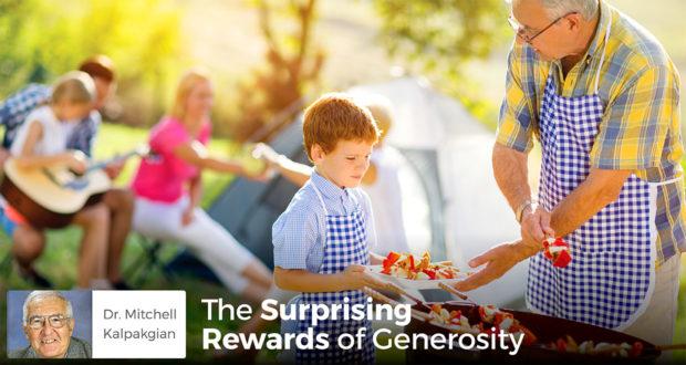 The Surprising Rewards of Generosity - Dr. Mitchell Kalpakgian