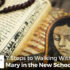 7 Steps to Walking With Mary in the New School Year - Amanda Evinger
