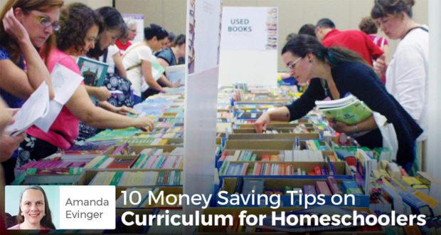 10 Money Saving Tips on Curriculum for Homeschoolers - Amanda Evinger