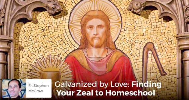 Galvaniz ed by Love - Finding Your Zeal to Homeschool - Fr. Stephen McGraw