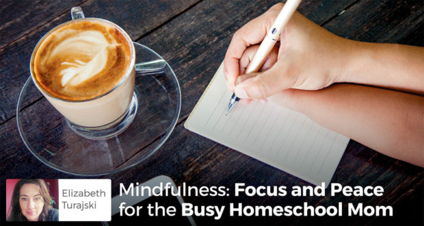 Mindfulness: Focus and Peace for the Busy Homeschool Mom - Elizabeth Turajski