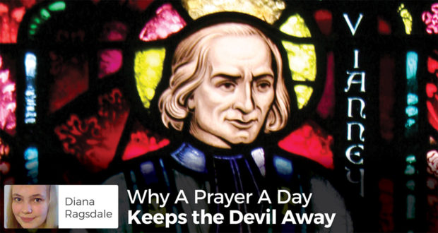 Why A Prayer A Day Keeps the Devil Away - Diana Ragsdale