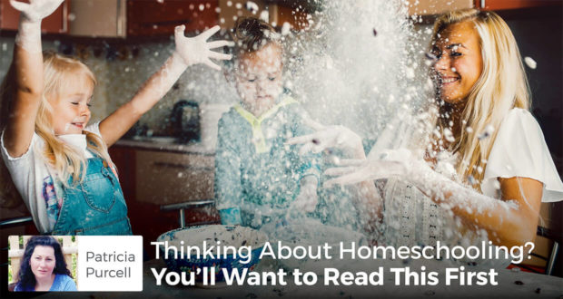 Thinking About Homeschooling? You'll Want to Read This First - Patricia Purcell