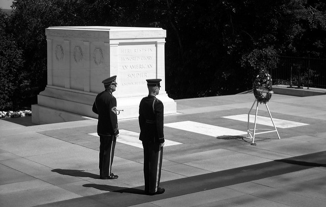 Tomb of the Unknown Solider - War Or Peace: Should Catholics Observe Veterans Day? - by John Clark