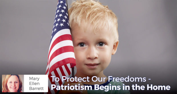 How Patriotism Begins in the Home - Mary Ellen Barrett