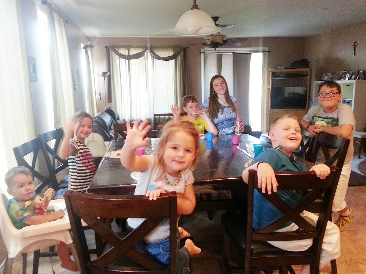 Featured Family - Yes, They're All Ours - Christa Owens