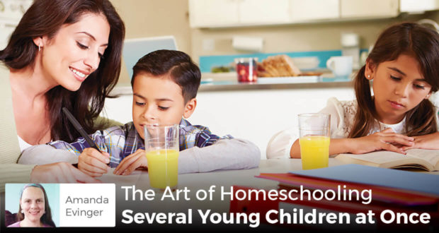 The Art of Homeschooling Several Young Children at Once -Amanda Evinger