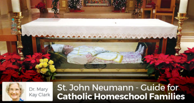 St. John Neumann - A Surprising Example of Catholic Homeschool Family Life - Dr Clark