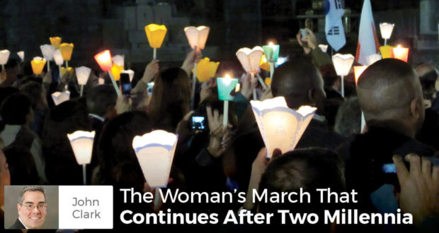 The Woman's March That Continues After Two Millennia - John Clark