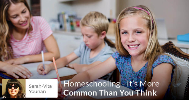 Homeschooling - It's More Common Than You Think - Sarah Younan