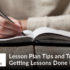 Lesson Plan Tips and Tricks-Getting Lessons Done Painlessly