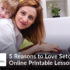 5 Reasons to Love Printable Lesson Plans