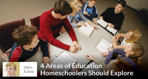 John Tuttle - 4 Areas of Education Least Explored by Homeschooling Families