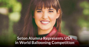 Victoria Seton Alumna Represents USA in World Ballooning Competition