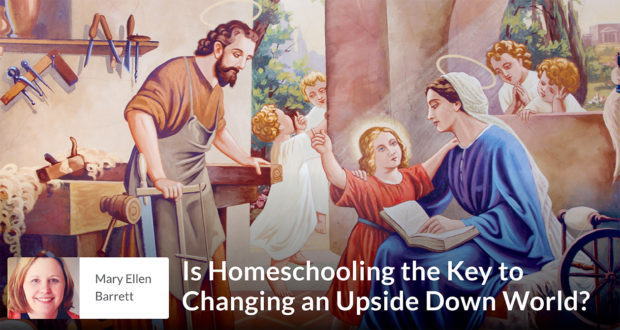 Is Homeschooling the Key to Changing an Upside Down World?