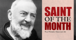 Saint of the Month Pio