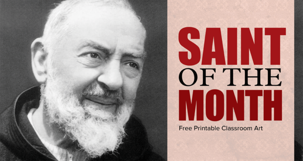 Saint of the Month Pio